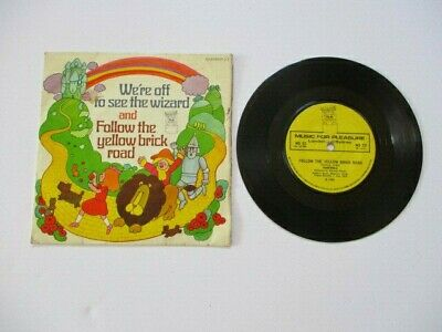 WE'RE OFF TO SEE THE WIZARD CHILDREN'S 45 r.p.m. Vinyl Single - 1966