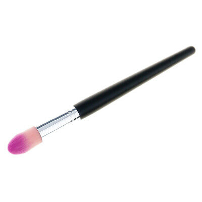 3X(1Pc Colorful Flame Top Tapered Makeup Brush Foundation Powder Brush Cont L4C1