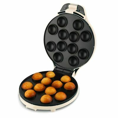 Sweet Treats Cake Pop Maker Non Stick Cooking Plates Fast Baking Time Makes 6