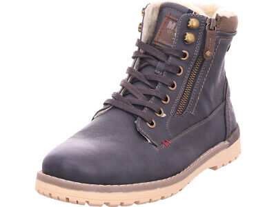 the latest 29b63 cd79e MUSTANG HERREN Stiefel grau