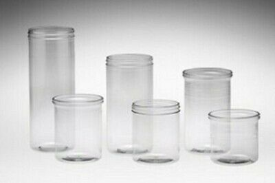 Clear Tubs Candy Bin Storage Jar Container Treats Display Candy Jar 16pk - 36pk