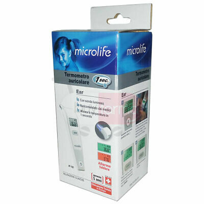 Microlife IR-150 Microlife IR 150 InfraRed Ear Thermometer, 1 Sec. Results
