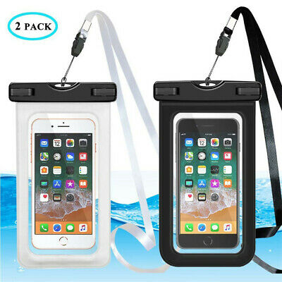 Underwater Waterproof Bag Pouch Dry PVC Case Cover For Samsung iPhone Cell Phone