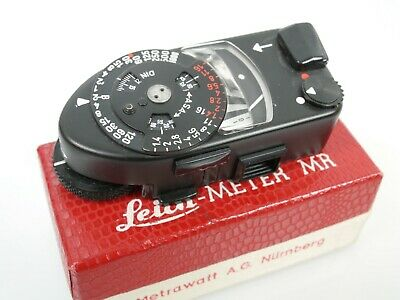 Leicameter MR-4 MR4 black for Leica M4 M2 M3 M4-P M4-2 fully working boxed + box