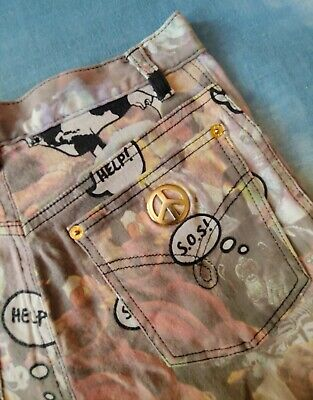 TROUSERS vintage 80's woman MOSCHINO jeans  made Italy TG.30  circa S RARE