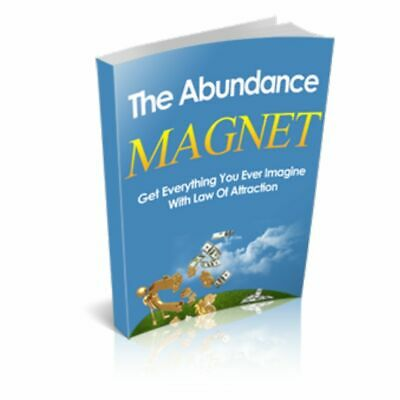 """"""" The Abundance Magnet """" Digital Book  - Law of Attraction for Money Health Love"""