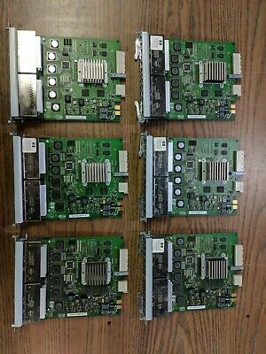 Lot of 6 - HP ProCurve J8702A 24-Ports POE Ethernet Switch Module for zl Chassis