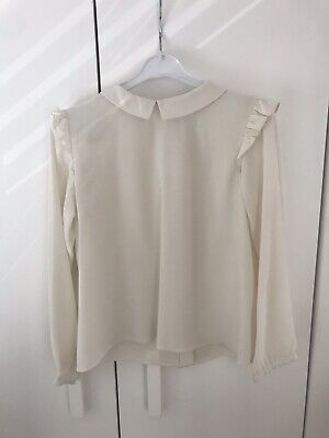 Marie Chantal Girls Cream Blouse 8 Years Excellent Condition