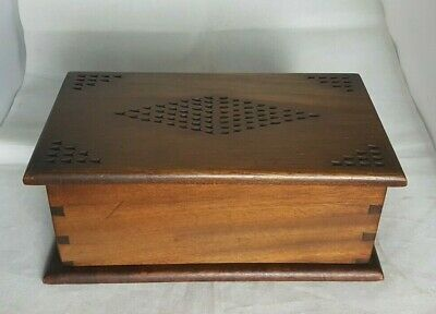 Beautiful Vintage Wooden Storage Box (Width - 24.5 cm)