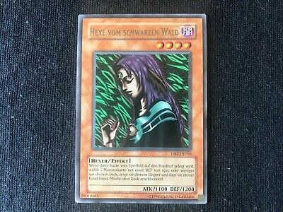 Yugioh Witch of The Black Forest German Foreign Rare DB2-066 Near Mint NM