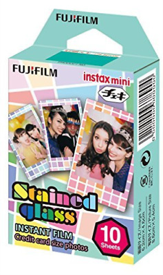 Instax Mini Stained Gl Film Pk Of 10Exp NEW