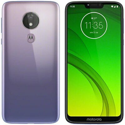 "Motorola Moto G7 Power XT1955-4 Dual (FACTORY UNLOCKED) 6.2"" 64GB 4GB RAM Violet"
