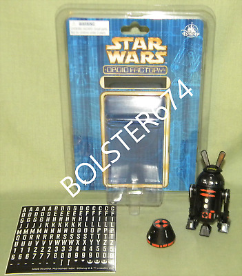 R2-Q5 & Alt. R4 Dome ASTROMECH Disney Parks Star Wars Droid Factory BAD Custom