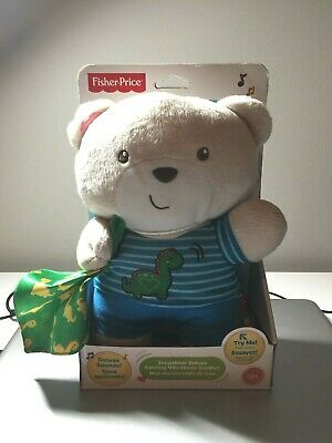 Fisher-Price Snugabear Deluxe Calming Vibrations Soother