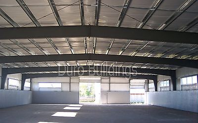 DuroBEAM Steel 100x100 Metal Frame Building Clear Span Horse Riding Arena DiRECT