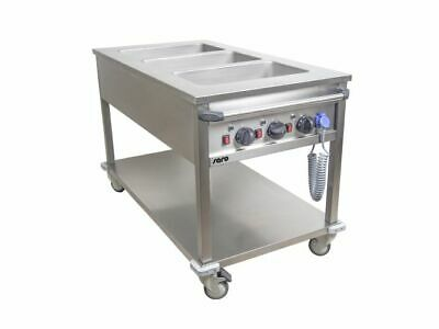 Bain Marie Trolley Model BT-3 Food Warmer Water Bath Warm Keeping