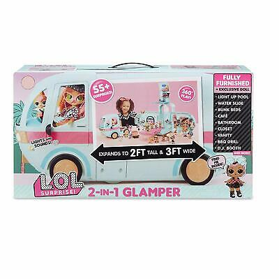 L.O.L. Surprise! 2-in-1 Glamper * Brand new LOL Surprise & 55+ surprises WOW 55