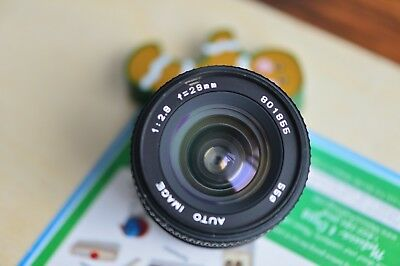 IMAGE 28mm f2.8 MF Lens for Yashica/Contax mount