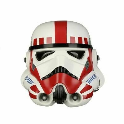 ANOVOS Star Wars EP IV A New Hope Imperial Shock Trooper TK Helmet Red *Sealed