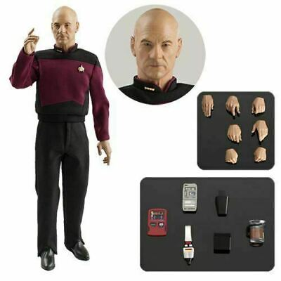 QMX Star Trek Next Generation Captain Jean-Luc Picard 1:6 Scale Action Figure