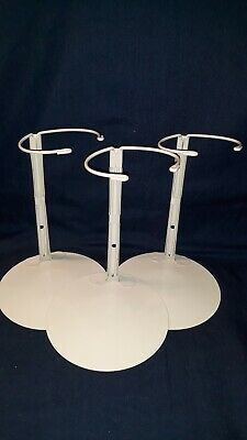 """3 Kaiser DOLL STANDS for 18""""dolls & 21"""" Portrait Dolls & others NEW 16""""-26""""Dolls"""