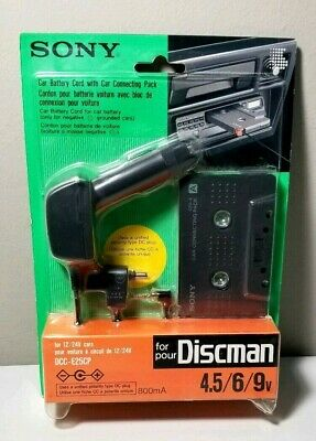 Sony DCC-E25CP Vehicle Car Connecting Kit Cassette Tape Adapter Charger New