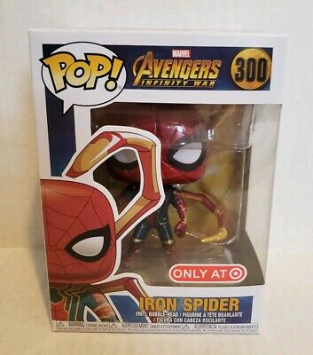 Funko Pop #300 Avengers: Infinity War Iron Spider With Legs Target Exclusive