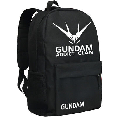 Mobile Suit Gundam Unicorn Backpack Luminous Students School Computer Bags
