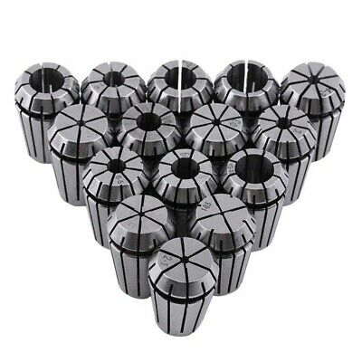 3X(15Pcs Er20 Spring Collet Set For Cnc Workholding Engraving Machine And M X7B8