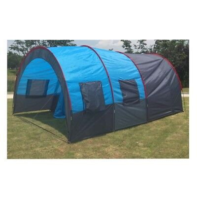 5-8 Person Large Camping Family Tent Hike Size16*10*7 Ft Waterproof FiberglassUS