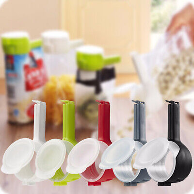 1pc Seal Sealing Pour Bag Clip Kitchen Tool Home Food Close Clip Seal..