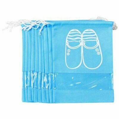 Travel Shoe Organizer Bags For Boots, High Heel, Drawstring, Transparent Wi S7W1