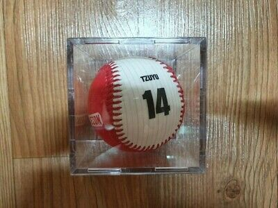 Twice Official Goods Strikezone Strike zone Event printed Signed ball TZUYU