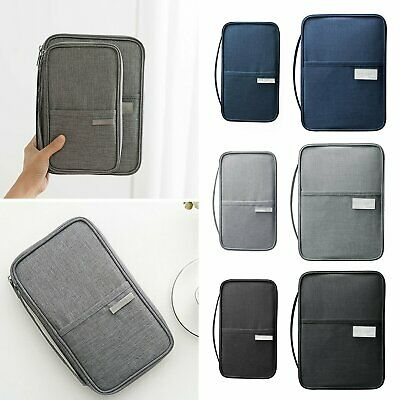 Travel Passport Holder Wallet Family Creative Waterproof Document Case Organizer