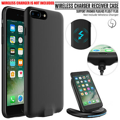 For iPhone 6 6S 7 Plus QI Wireless Charger Receiver Direct Charging Case Cover