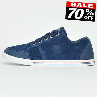 K Swiss Match Court Classic Suede Retro Trainers CLEARANCE £17.99 Free P&P
