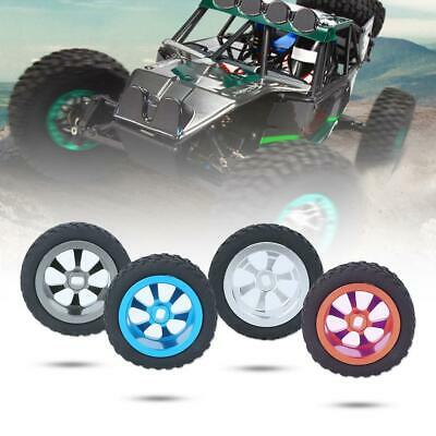 4pcs Wheel Tyre Rubber Tire With Alloy Hub for WLtoys K969 K999 P929 1/28 RC Car