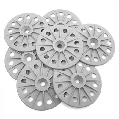 STRONG  60mm Plastic/ Glass Fibre Insulating Washers for  Hard Insulation Board