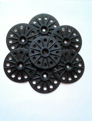 STRONG 60mm Plastic/Glass Fibre insulation Washers for Hard Insulation Board