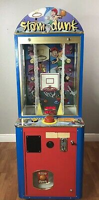 Coastal Amusements Slam Dunk Coin Operated Prize Arcade Game FREE SHIPPING