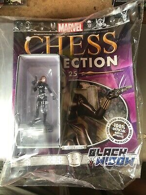 Marvel Chess Collection #25. Black Widow. With Magazine