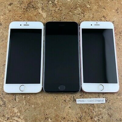 *iCL/No Power* Lot of 3 Apple iPhone 6s | AT&T | 32GB/64GB | Gold/Rose Gold/Gray