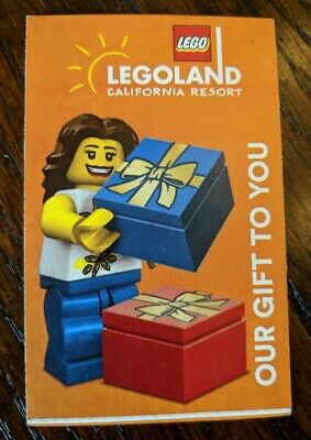 LEGOLAND California 1 day SEA LIFE HOPPER Ticket Valid Sept 3-Nov 22, 2019