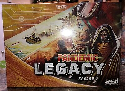 Z-Man PANDEMIC LEGACY SEASON 2 board game - NEW SEALED