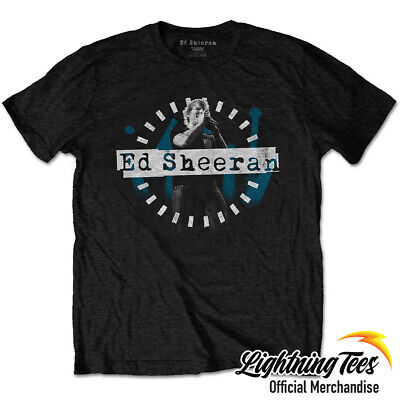 Official Ed Sheeran Dashed Stage Photo T-Shirt