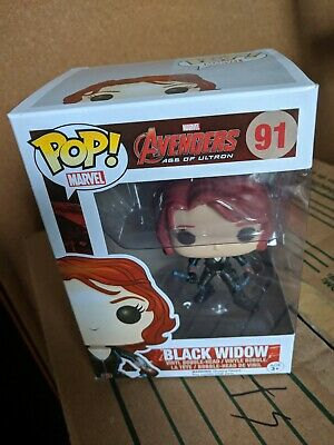 New Pop Avengers: Age of Ultron - Black Widow 91 Funko Vinyl VAULTED