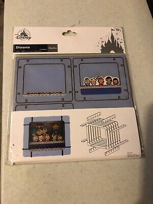 Disney Parks Its A Small World 3D Diorama 14 Pcs WDW New