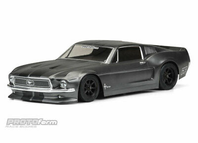 Proline 155840 1968 Ford Mustang Clear Body for VTA (Vintage Trans Am) PRO155840