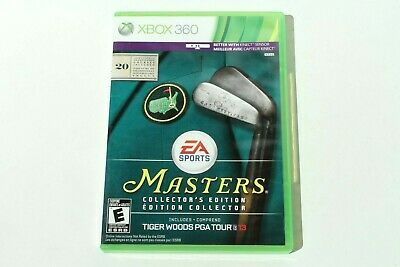 Tiger Woods PGA Tour 13 - Masters Collector's Edition (Xbox 360) Tested