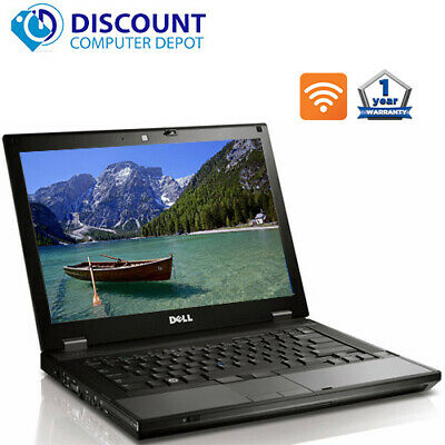 "Dell Latitude E6410 Laptop Core i5 2.4GHz 4GB RAM 1TB HD DVD 14.1"" Windows 10 PC"